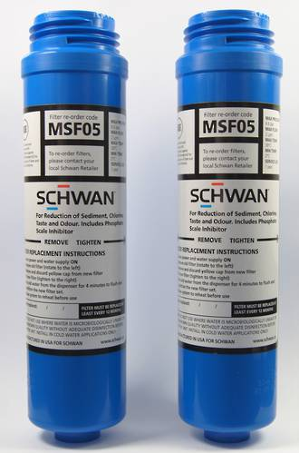 MSF05-T - Schwan Replacement Filter - Twin Pack